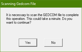 Scam Gedcom